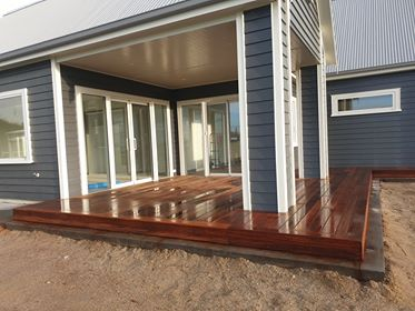 Decks at Pond Road, Matamata